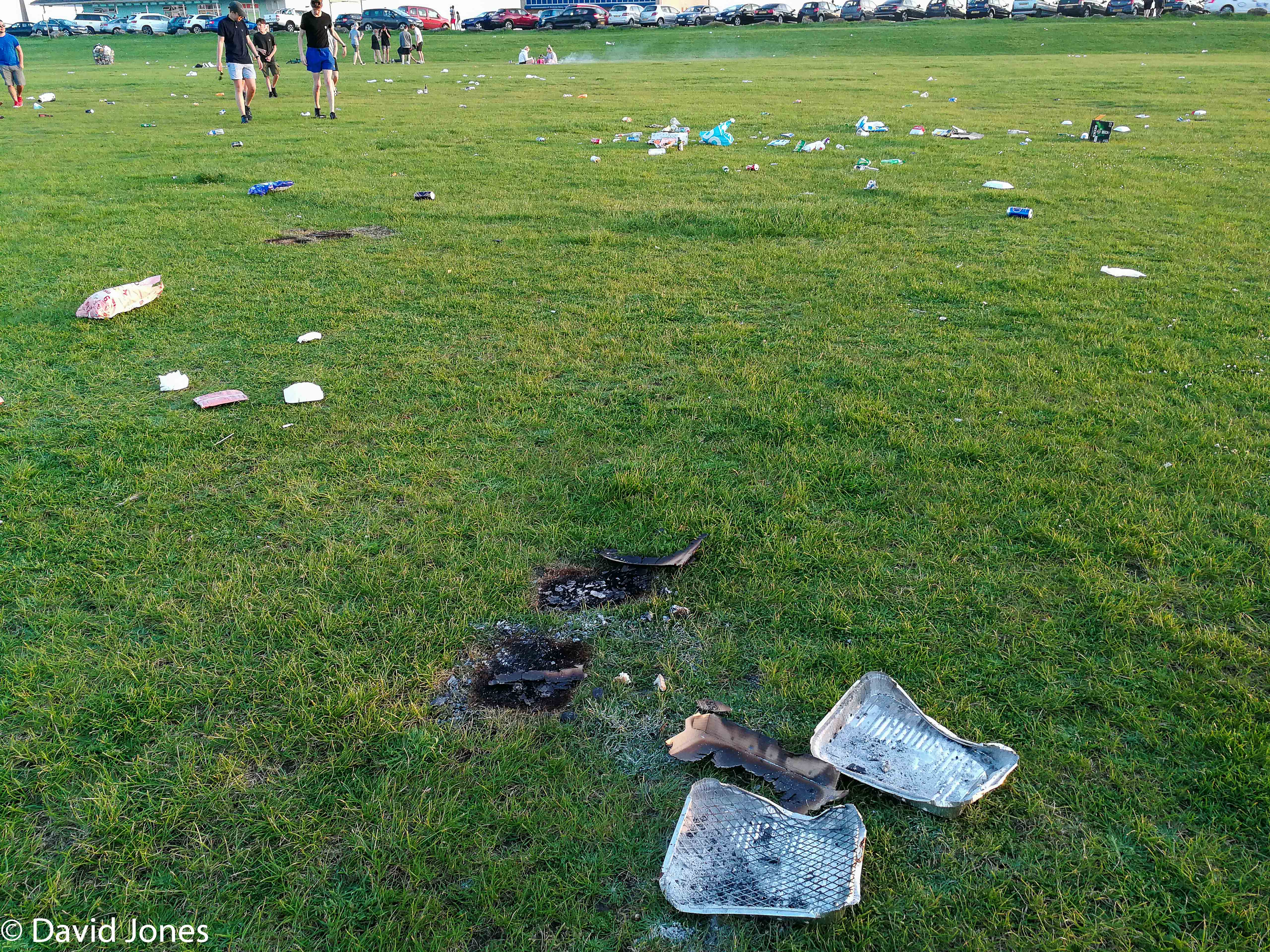 barbecues on Southsea common