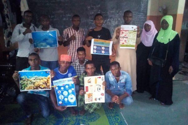Raising awareness of ocean issues