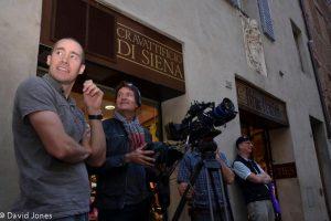 Filming Sienna