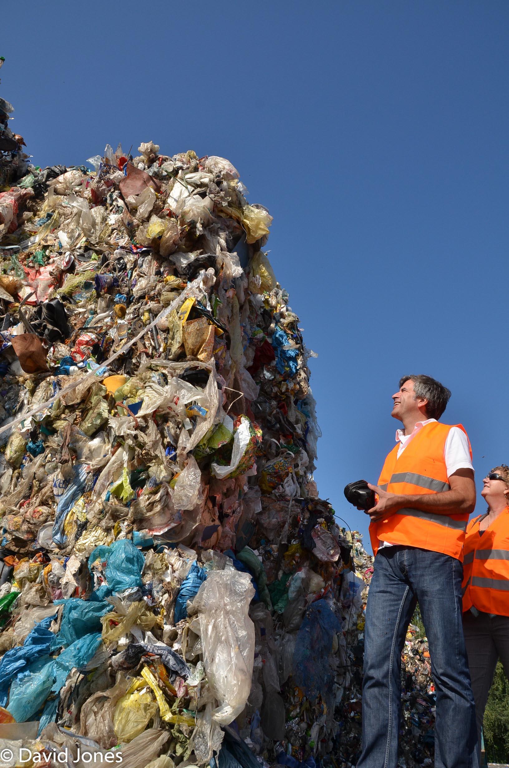 So much plastic waste