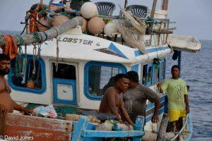 Sri Lanka - local fishermen
