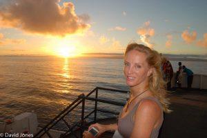 Tanya Streeter in Fiji