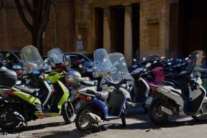 scooters in Siena