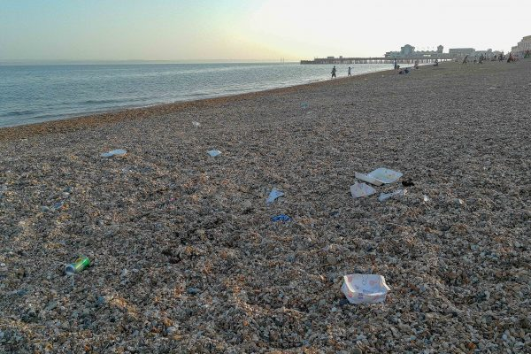 more beach plastic southsea