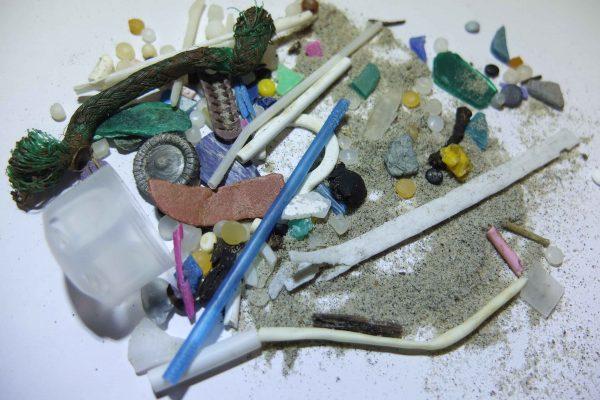 Microplastic sample
