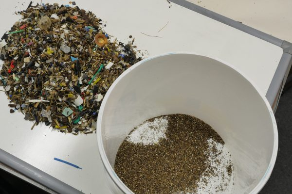 separating organic material