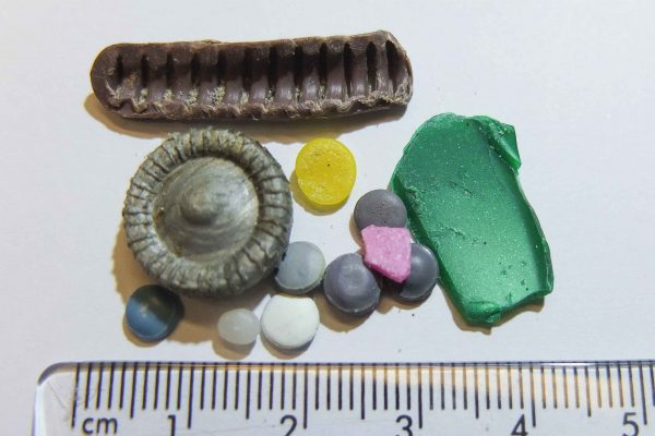 microplastic size range