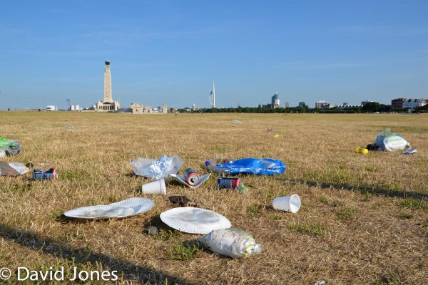 waste left on the common