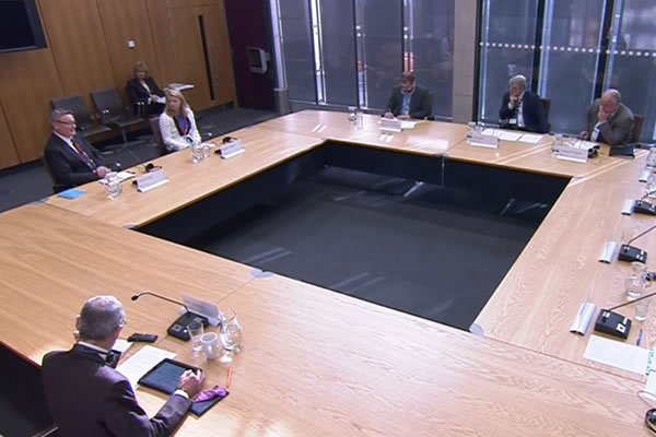 Giving Evidence at the Senedd