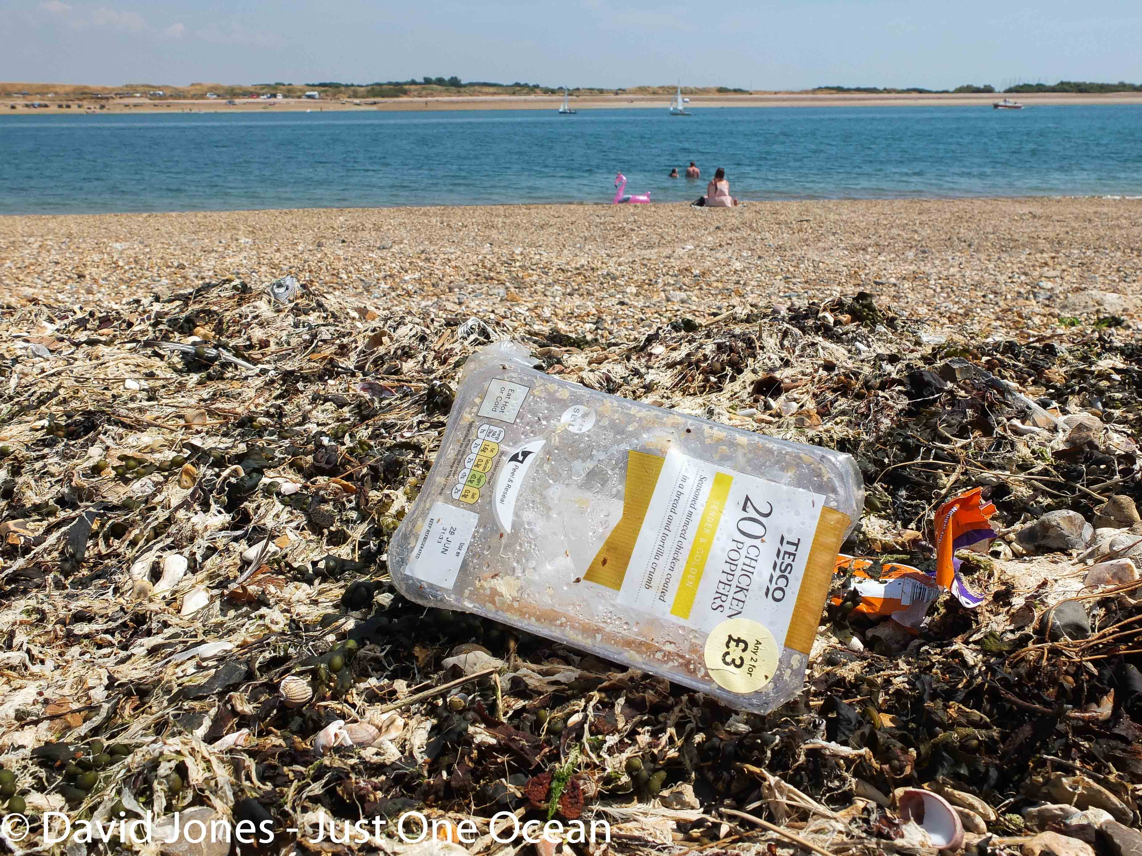 sandwich pack on beach