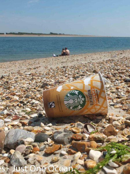 starbucks on the beach