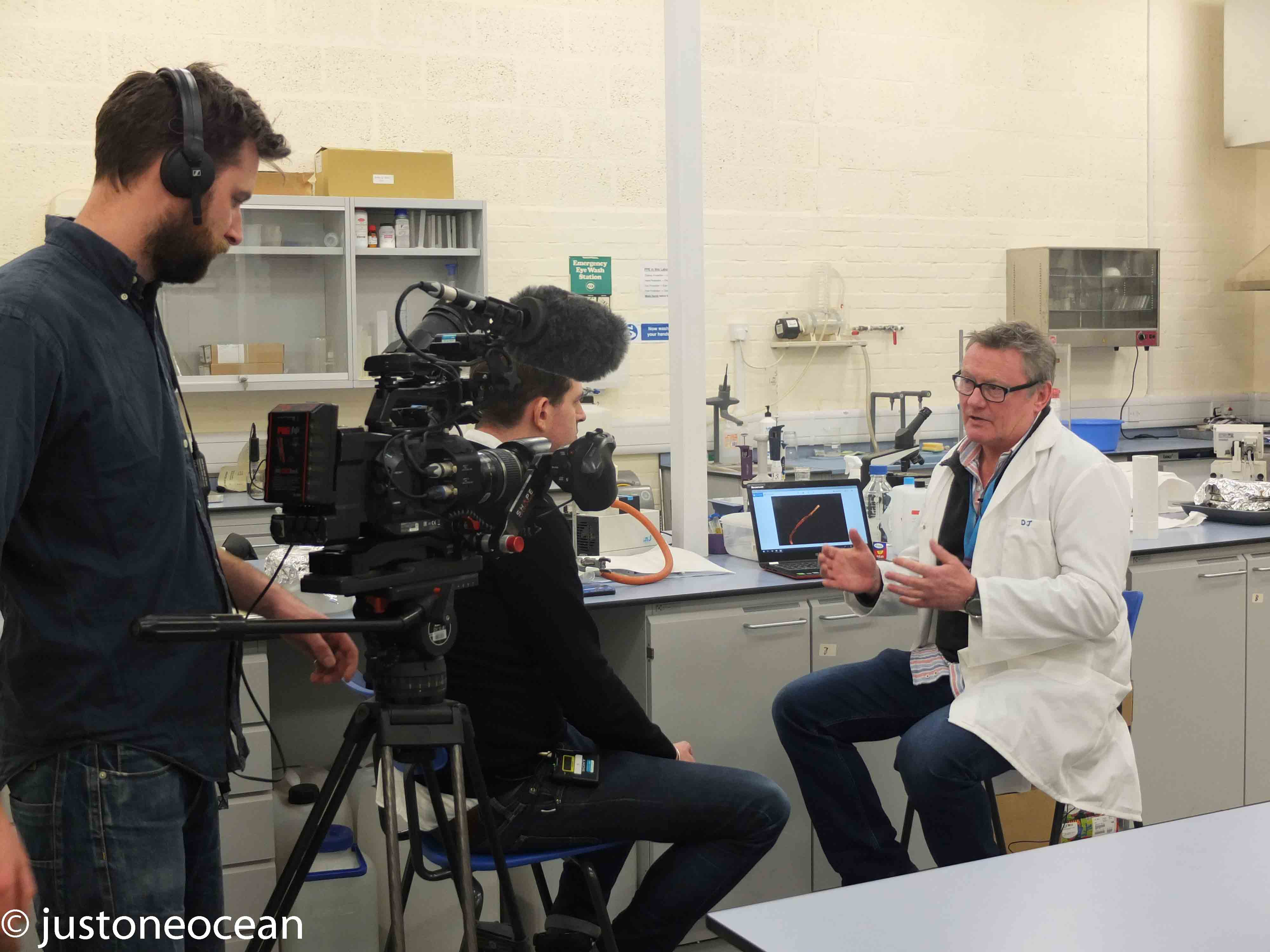 Testing Microplastics for the BBC